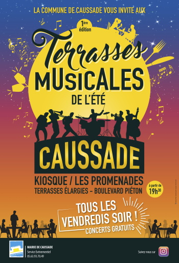 Illustration pour « Les Terrasses Musicales No Name »