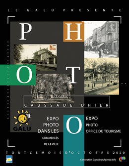 Illustration pour « Exposition photos : Caussade d'Hier »